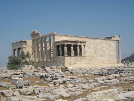 Acróples em Atenas na Grécia.  Dicas de como ir no blog Planningmytravels.com