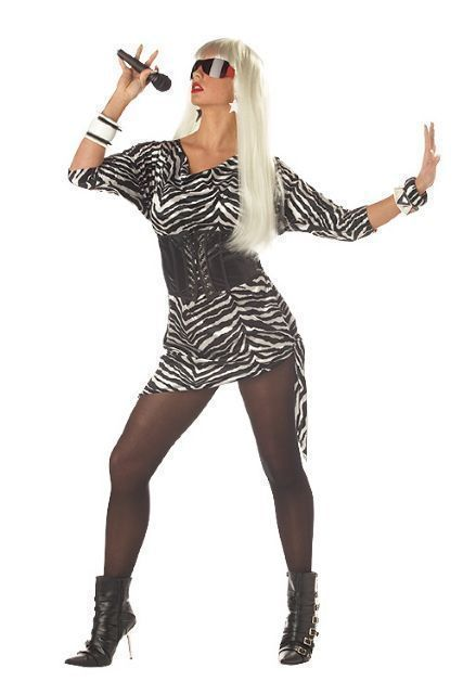 The 25 best rockstar costume women ideas on pinterest rock video vixen 80s rockstar adult costume solutioingenieria Image collections