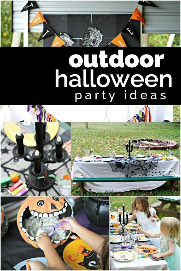 Outdoor Halloween Party Ideas Spaceships and Laser Beams in 2018