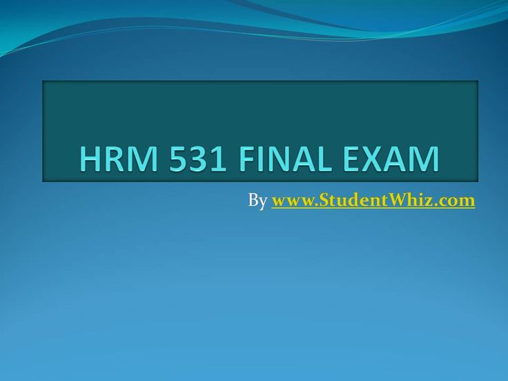 The HRM 531 Final Exam financial terms worksheet throws light on some of the most basic concepts of the healthcare business. Understanding health care financial terms is a prerequisite for both academic and professional success.