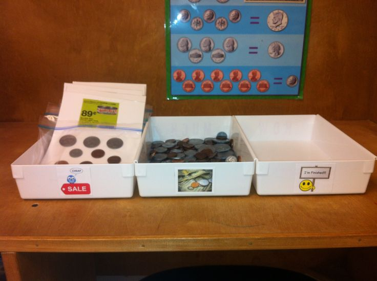 This is one of my money stations in my high school life skills class :)