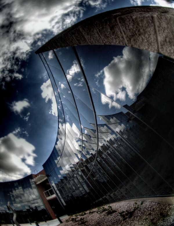 Abstract fisheye architecture