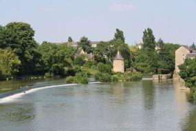 le Loir à Durtal.