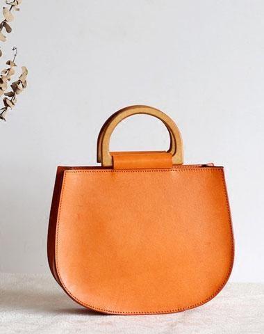 Handgefertigte Lederhandtasche Tasche Shopper Tasche für Frauen Leder Crossbody…