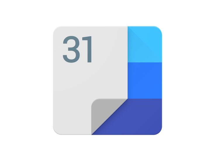 Google Calendar Android Icon Concept #iconography