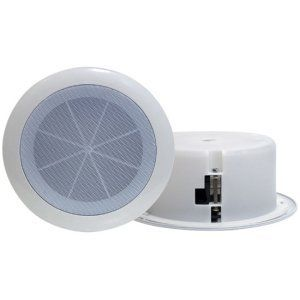 """Pyle PylePro PDICS6 In-Ceiling Speaker - T51454 by Pyle. $12.57. General Information Manufacturer/Supplier: Pyle Audio, Inc Manufacturer Part Number: PDICS6 Brand Name: Pyle Product Model: PDICS6 Product Name: PDICS6 Speaker Packaged Quantity: 1 Product Type: Speaker Technical Information Crossover Type: 2-way PMPO Output Power: 120 W Driver Type: 1.50"""" Tweeter 6.50"""" Minimum Frequency Response: 60 Hz Maximum Frequency Response: 16 kHz Impedance: 8 Ohm Sound Pressure Level..."""
