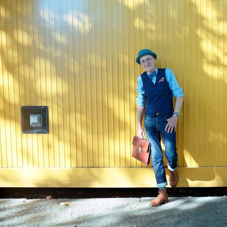 Neuer Tag, neues Outfit, neues Glück. Das ist Günther Anton Krabbenhöft.