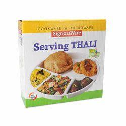 Microwave Thaali (Round) - Set of 3