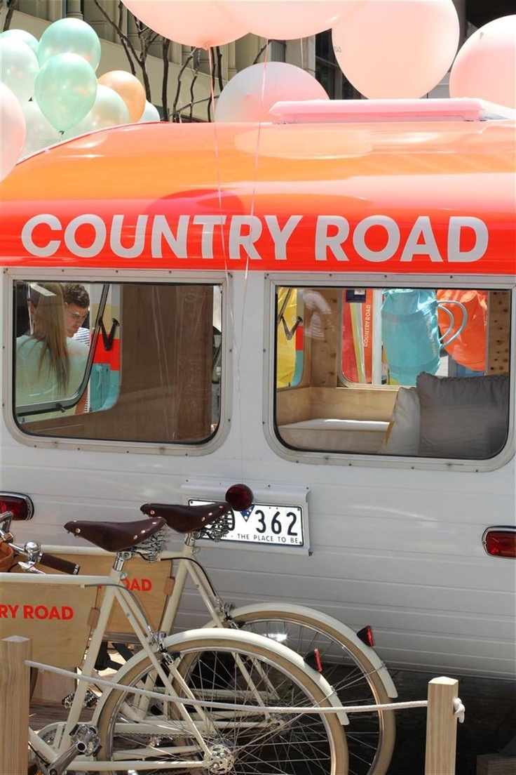 The Country Road CARAVAN final stop: Brisbane, Queensland