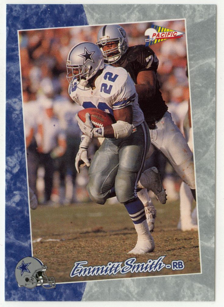 Emmitt Smith # 1 - 1993 Pacific Football