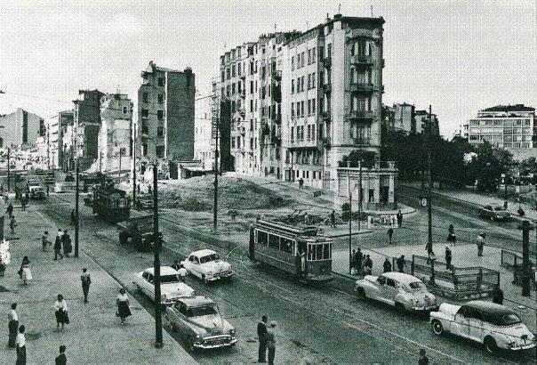 Pangaltı / Harbiye (1950'li yıllar) - Sözcü Gazetesi