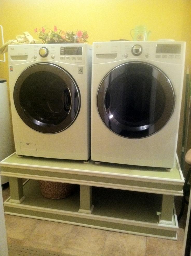 Diy Washer Dryer Pedestal Crafts Diy Pinterest