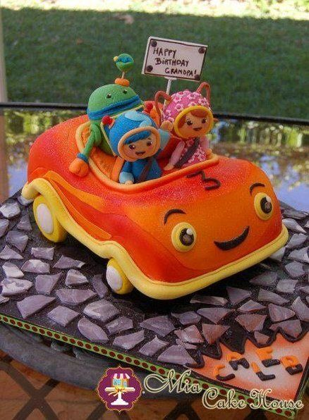 Umizoomi Team Car cake - by MiaCakeHouse