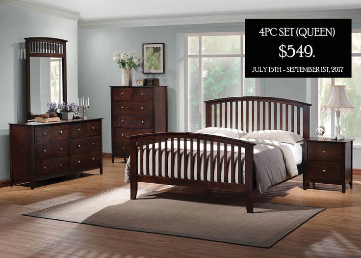 Queen Size Bedroom Sets Tia Slat Set In Cuccino 202081