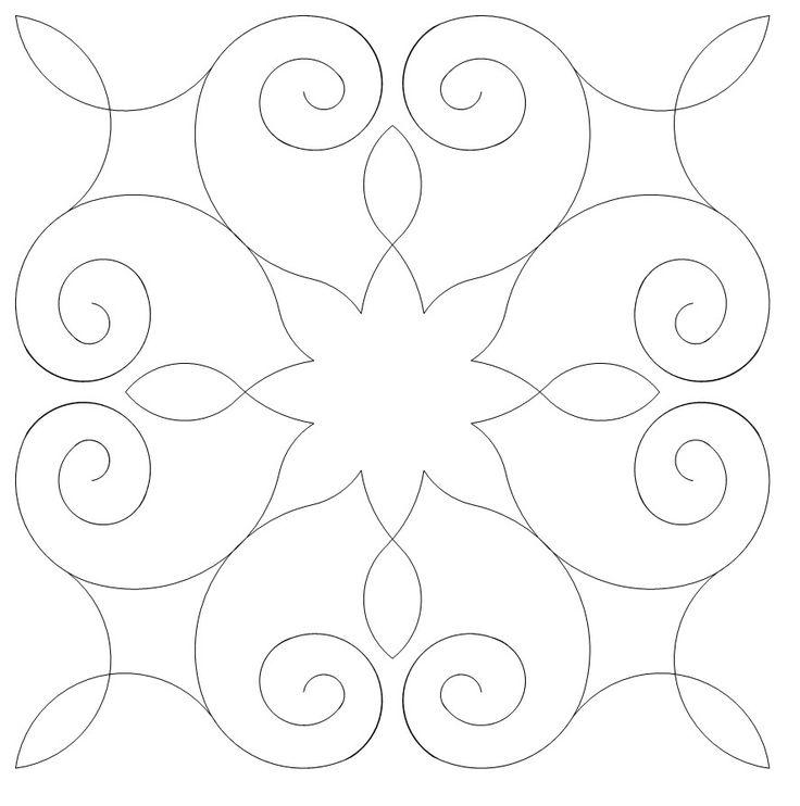 Quilt Stencils Hand Quilting : 514 best Quilt stencil images on Pinterest