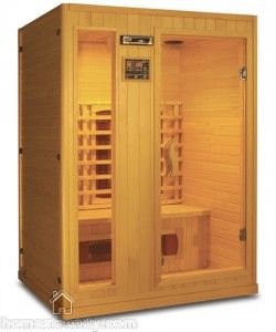 A sauna is a small house or room designed as a place to experience dry or wet heat sessions, or an establishment with one or more of these facilities.
