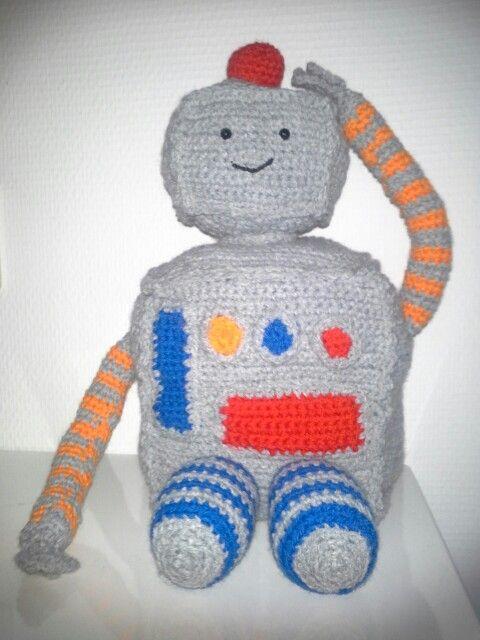 Een knuffel robot