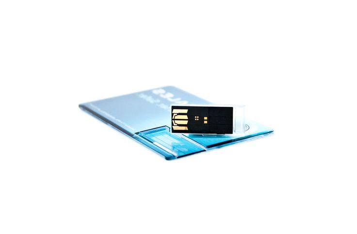 USB Flash Drive: model FS-083-A (transparent USB card)