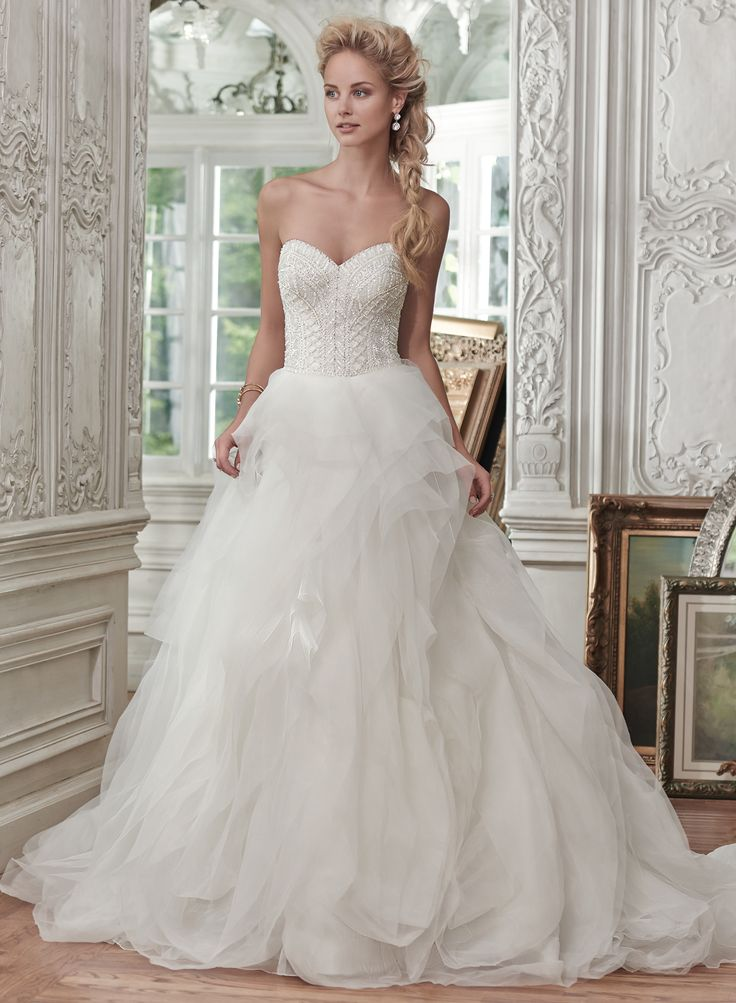40 best Maggie Sottero images on Pinterest | Wedding frocks ...