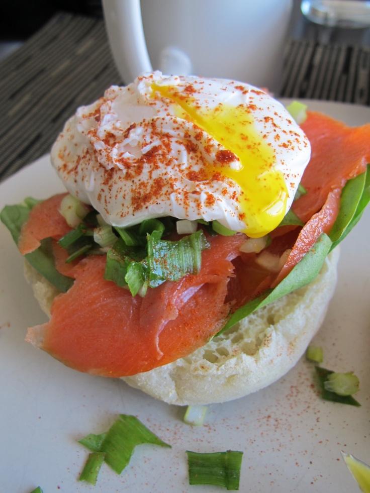 #food #salmon #egg