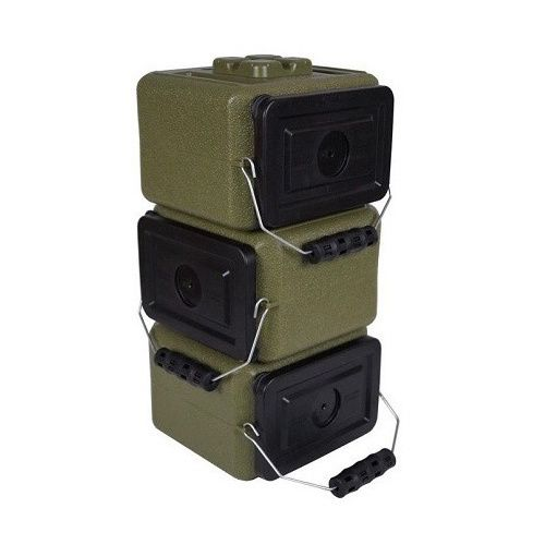 WaterBrick AmmoBrick 1.6 gal. Stackable Ammo Storage Container
