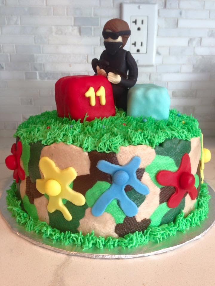 Paintball cake E&O Cakery