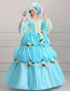 abito vendita steampunk®top principessa cielo blu vittoriano vestito da partito reale abiti da ballo film wholesalelolita