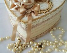 Shabby chic box , Heart box , shabby chic decor , Gift for her , Storage box , Paper mache box , Jewelry box  , Jewellery box , Keepsake box