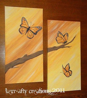 Monarch Butterfly Canvas'