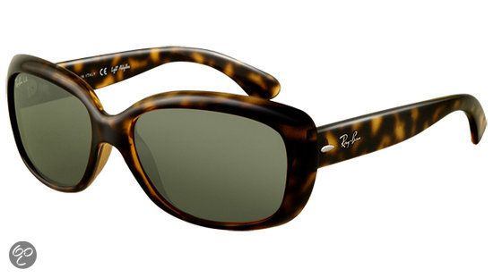 bol.com | Ray-Ban Jackie Ohh – RB4101 710 - Zonnebril – Havana – Medium | sunglasses...