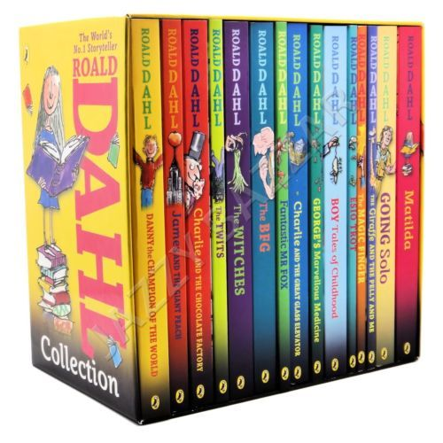 Roald Dahl Collection Phizz Whizzing 15 Classic Books BOX SET NEW Story Book 0141349980   eBay $47.99