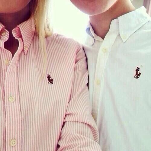 Me and my baby love us some polo. This would be a pic we'd end up taking together lol