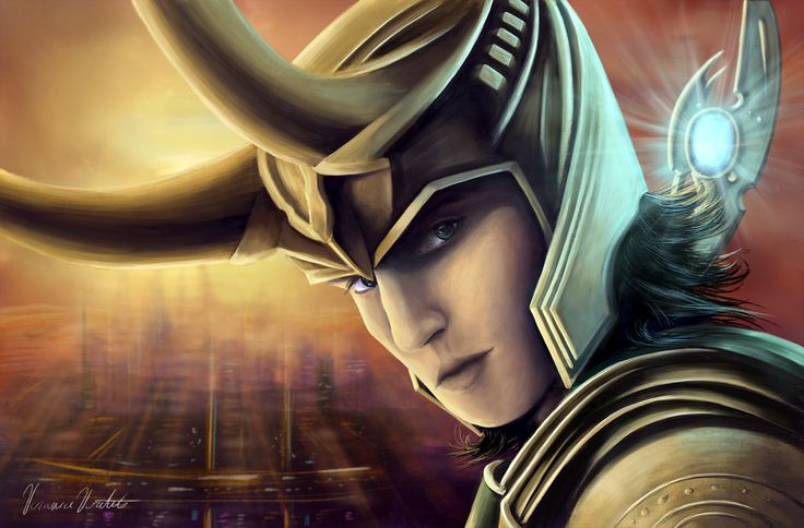 Loki by Veronica Voutila | Fan Art | 2D | CGSociety