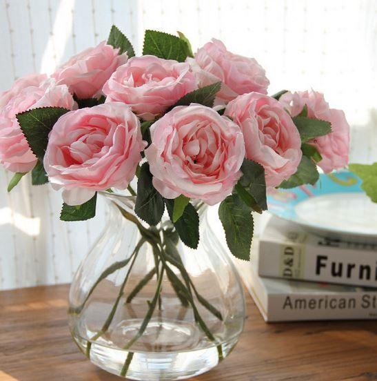 M s de 25 ideas fant sticas sobre flores artificiales en - Decoracion de jarrones con flores artificiales ...