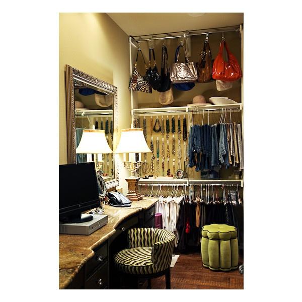 walk in closet with vanity home and dyi pinterest