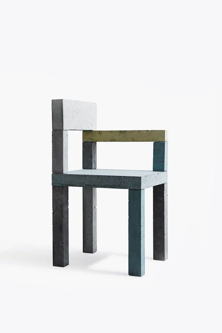 The Untitled (Concrete Chair) was born out of the artistic experiments of artist Magnus Petersen for New Works