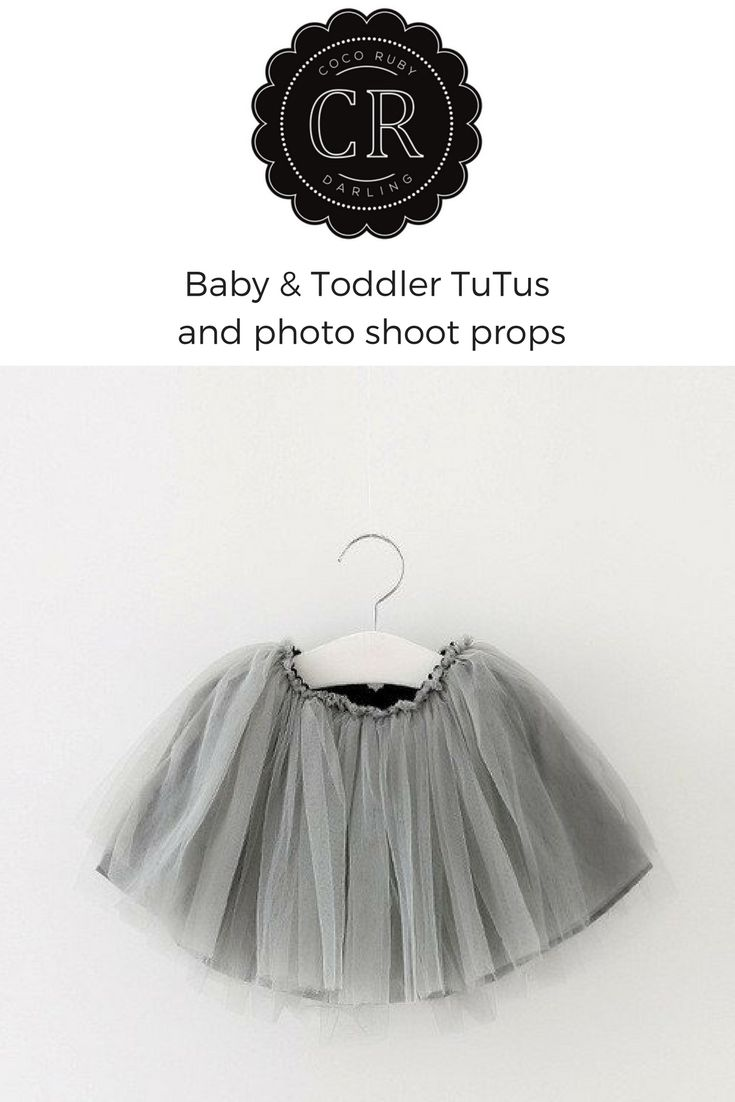 Buy the The Tutu Party Skirt – Coco Ruby Darling. Newborn baby photo shoot props. New born baby photo shoot outfits