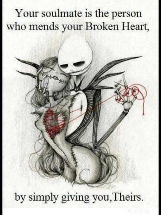 the nightmare before christmas jack and sally drawings - Google Search