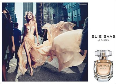 Its not that its such a great ad. I just think the story its trying to tell is so clearly told. Anja Rubik by Mert & Marcus for Elie Saab Le Parfum