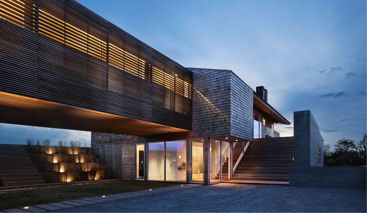 Villaen i moderne rustik for træelskere