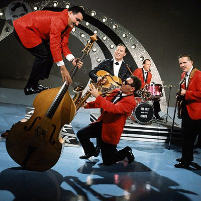 "Bill Haley & the Comets had the first #1 rock and roll hit with ""Rock Around the Clock"" in 1954"