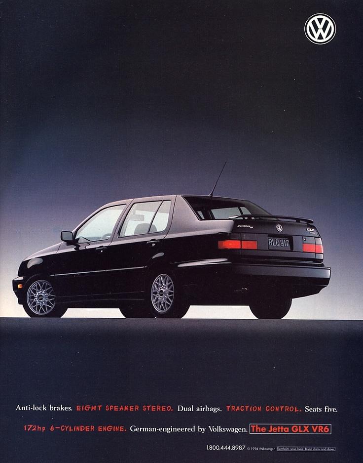 1994 Volkswagen Jetta ad.