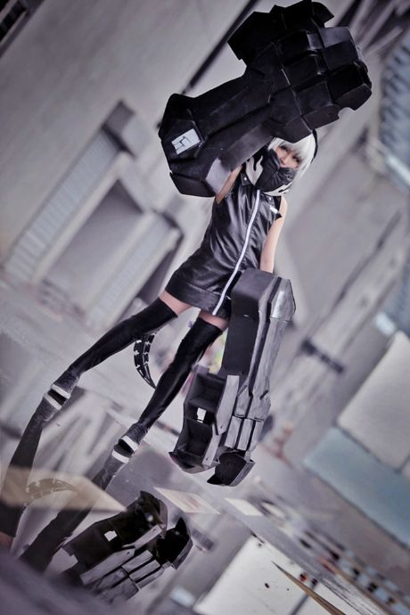 Strength from Black Rock Shooter. THIS one is the best! :D