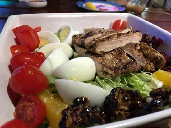 Rumba Latin Bistro & Cocktail Bar, Chengdu Picture: Jerk Chicken Salad - Check out TripAdvisor members' 16,265 candid photos and videos.