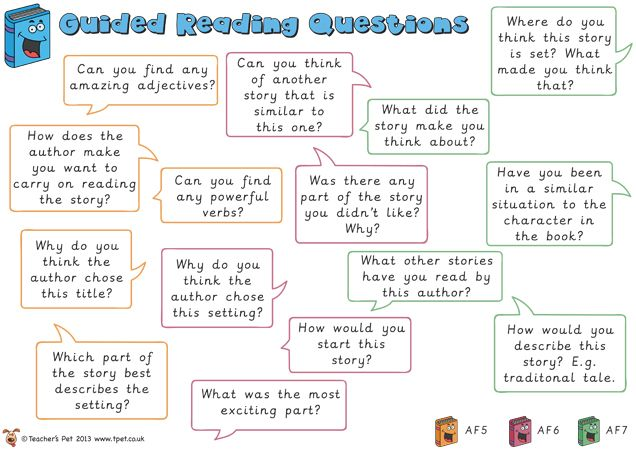 Teacher's Pet - Guided Reading Questions Mat - FREE Classroom Display Resource - EYFS, KS1, KS2, guided, reading, APP, assessment, questions...