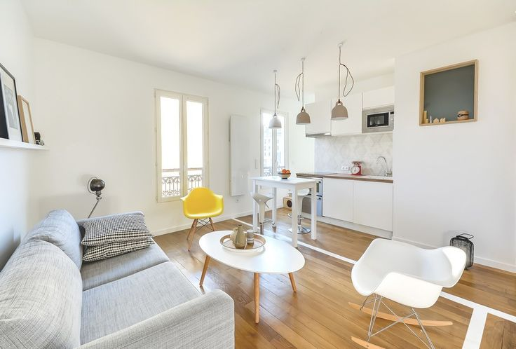 Small Couple's Apartment in Paris With an Inspiring Layout by Richard Guilbault - http://freshome.com/small-couples-apartment-in-paris-with-an-inspiring-layout-by-richard-guilbault/