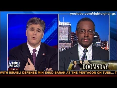 Dr. Benjamin Carson on the Sequester with Sean Hannity - Fox News 3-1-2013  #foxnews #fox #fauxnews