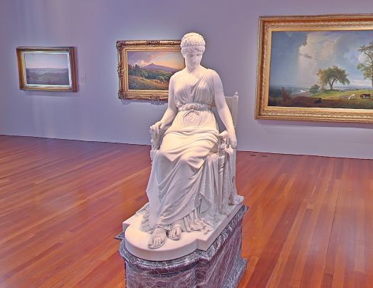 Franklin Simmons, Penelope, 1896, Marble, de Young Museum, San Francisco