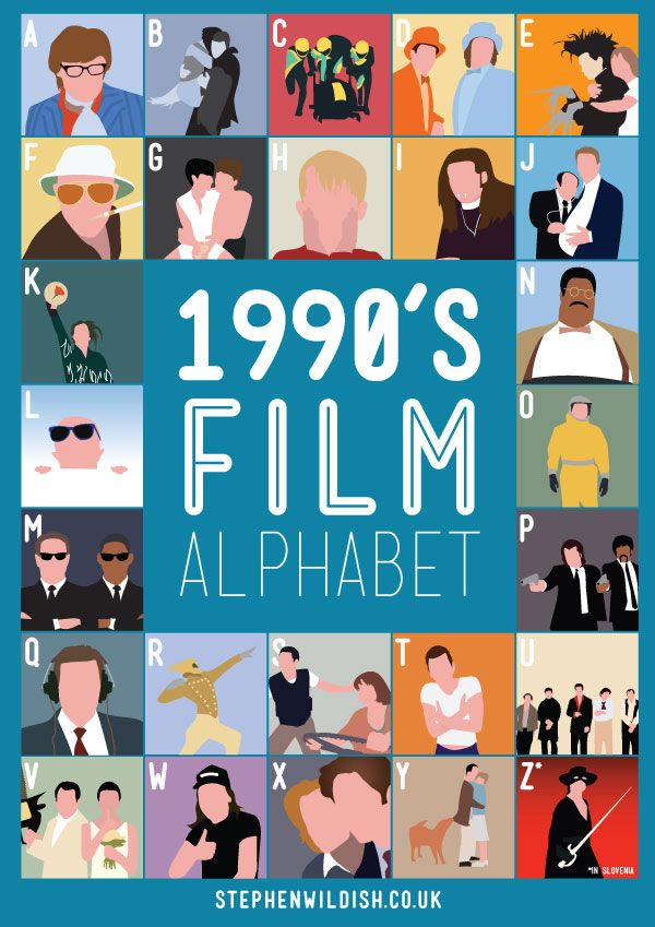 "THE 90S A ""FILM ALPHABET"" MOVIE KNOWLEDGE"