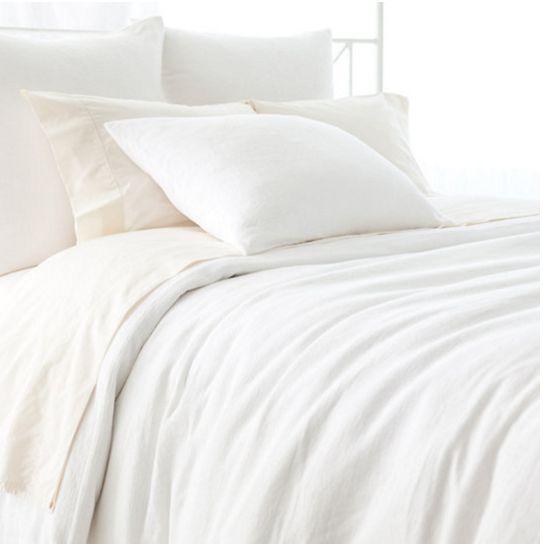 Montauk White Bedding design by Pine Cone Hill
